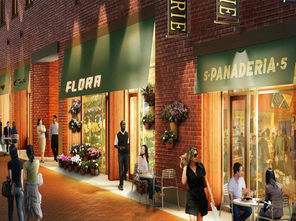 Five Condos Shops
