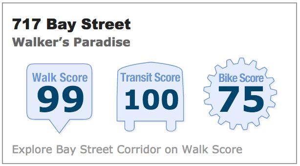 717 Bay Street Toronto Walk Score