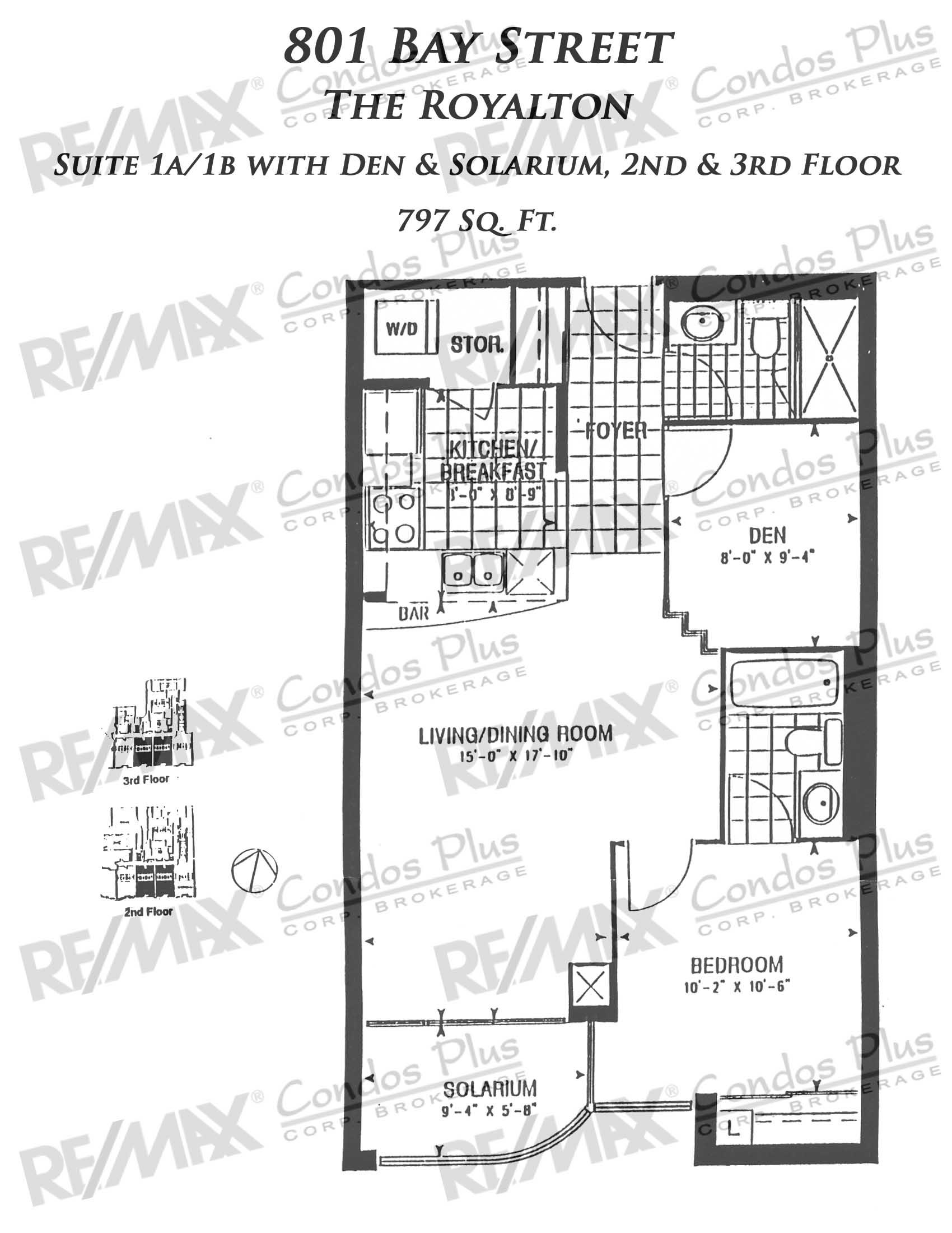 Suite 1A/1D+Den