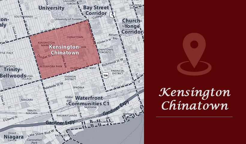 KENSINGTON MARKET/CHINATOWN
