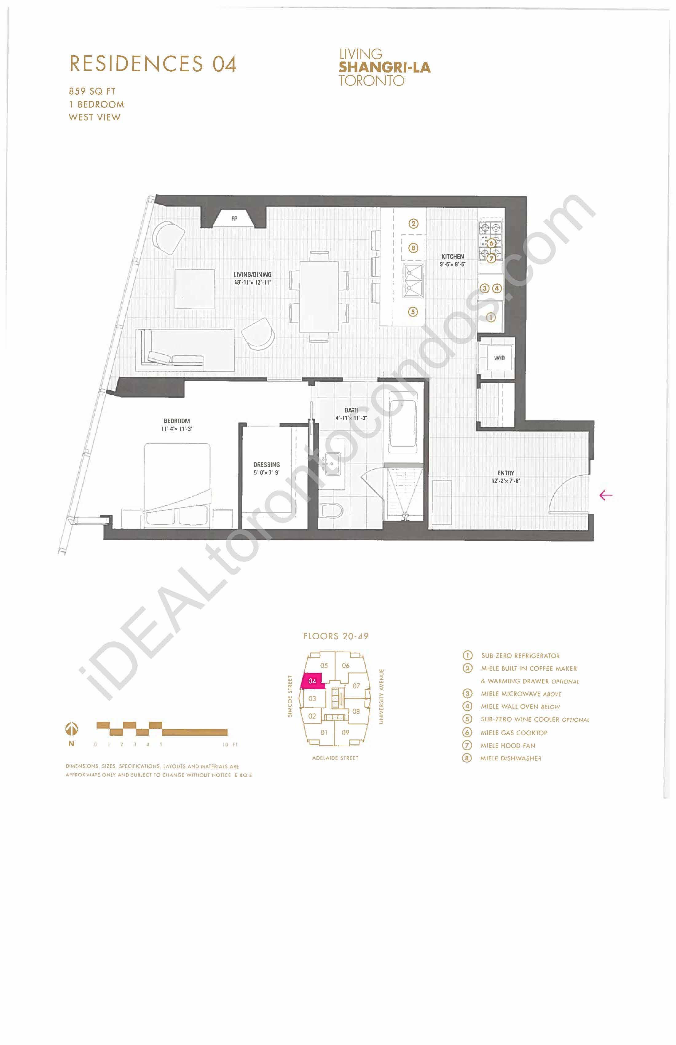 Residence 04 - 1 Bedroom