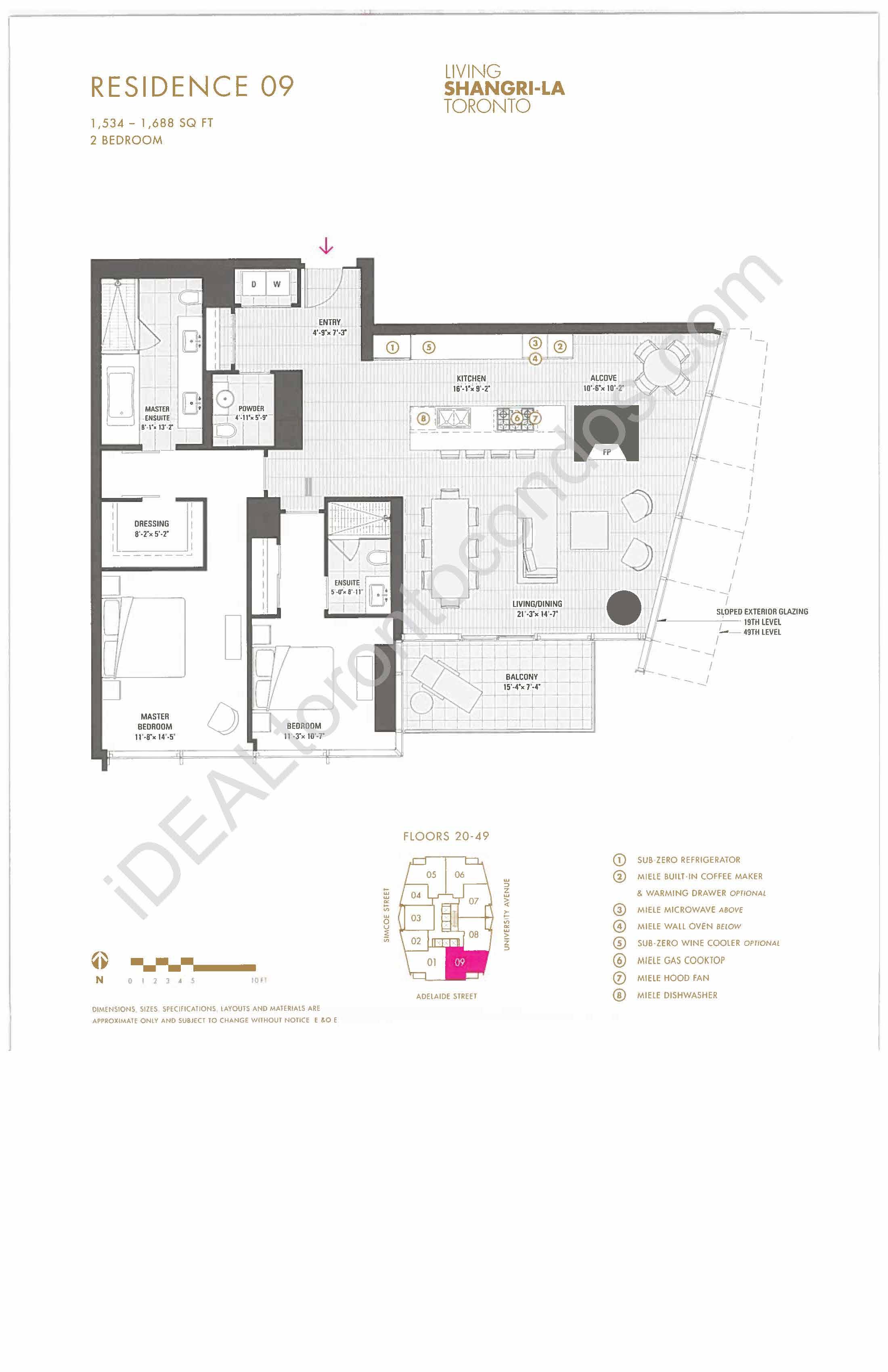 Residence 09 - 2 Bedroom