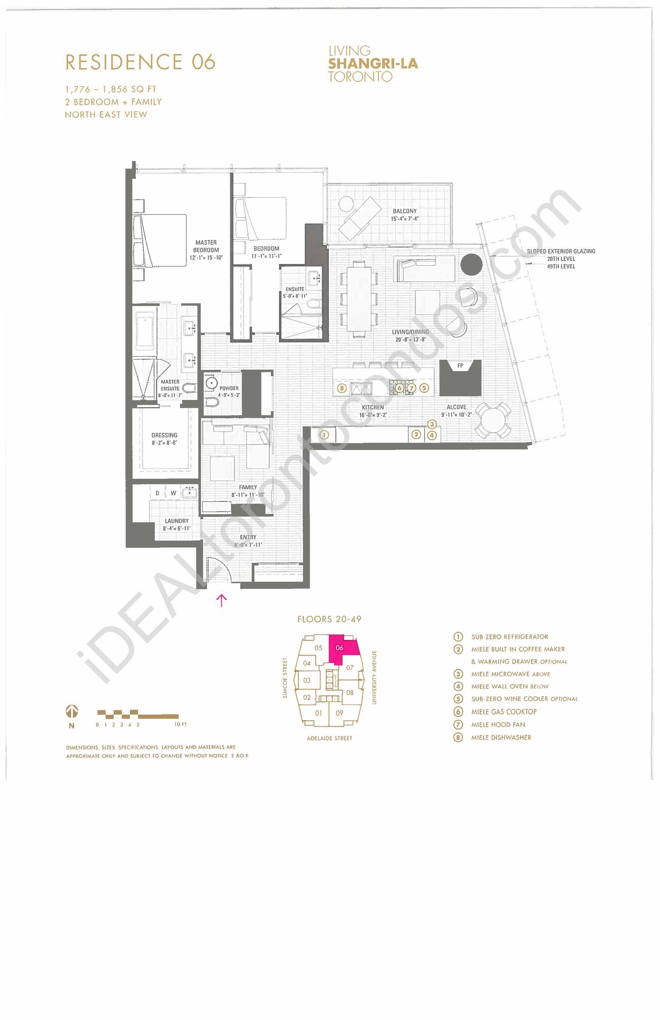 Residence 06 - 2 Bedroom + Family
