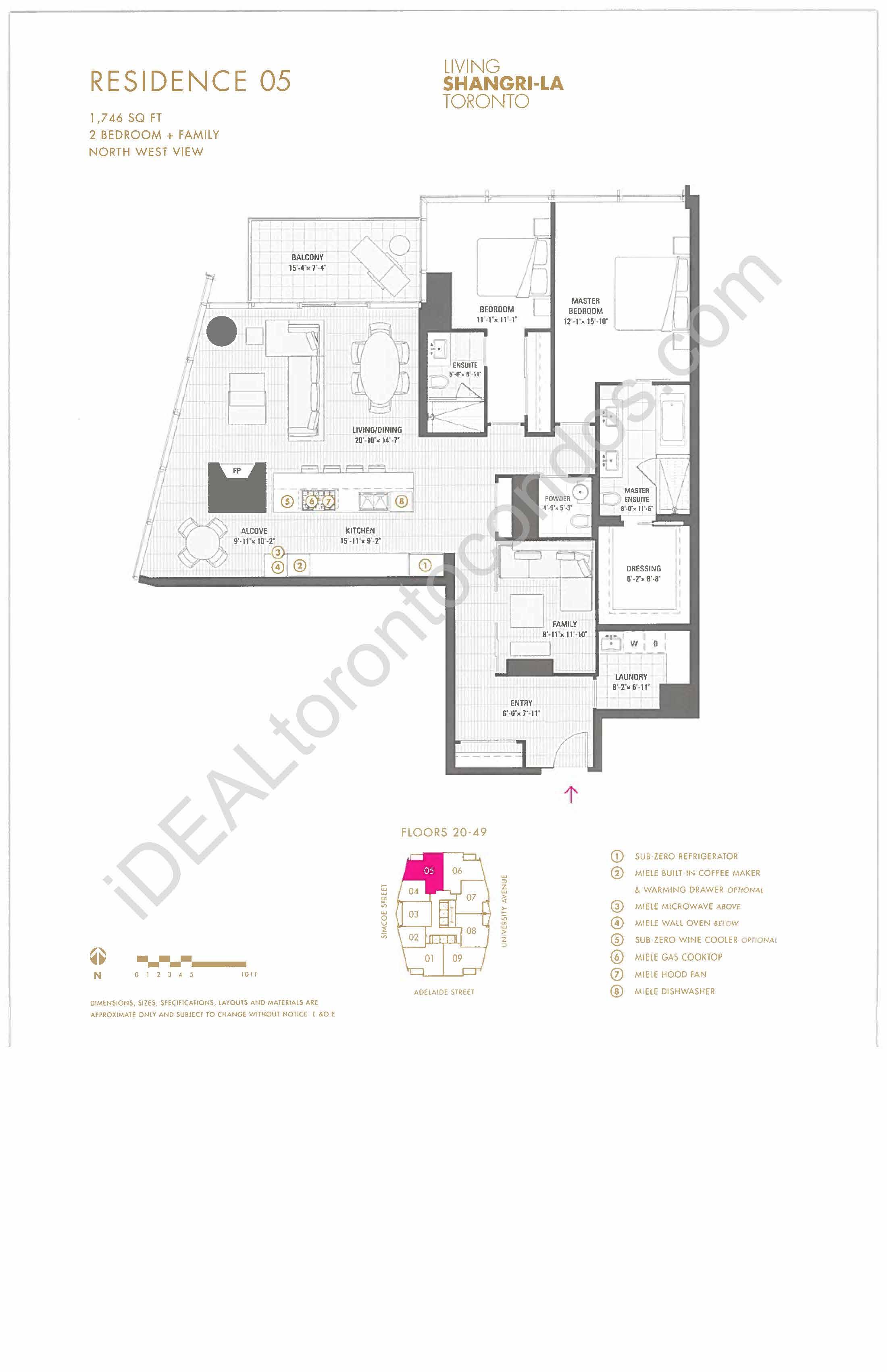 Residence 05 - 2 Bedroom + family