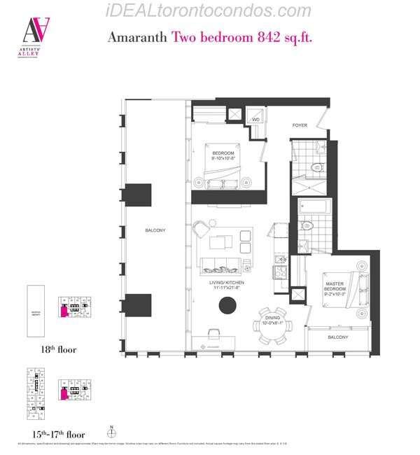 Amaranth Two bedroom - Phase 1