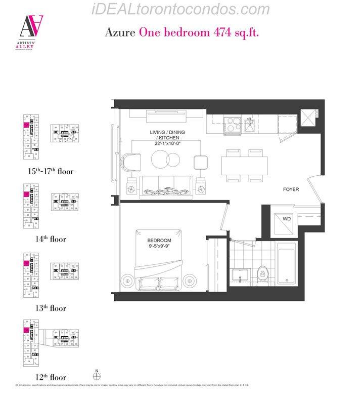 Azure One bedroom - Phase 1