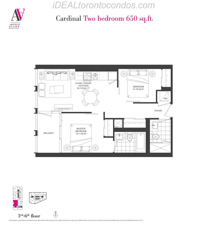 Cardinal Two bedroom - Phase 1
