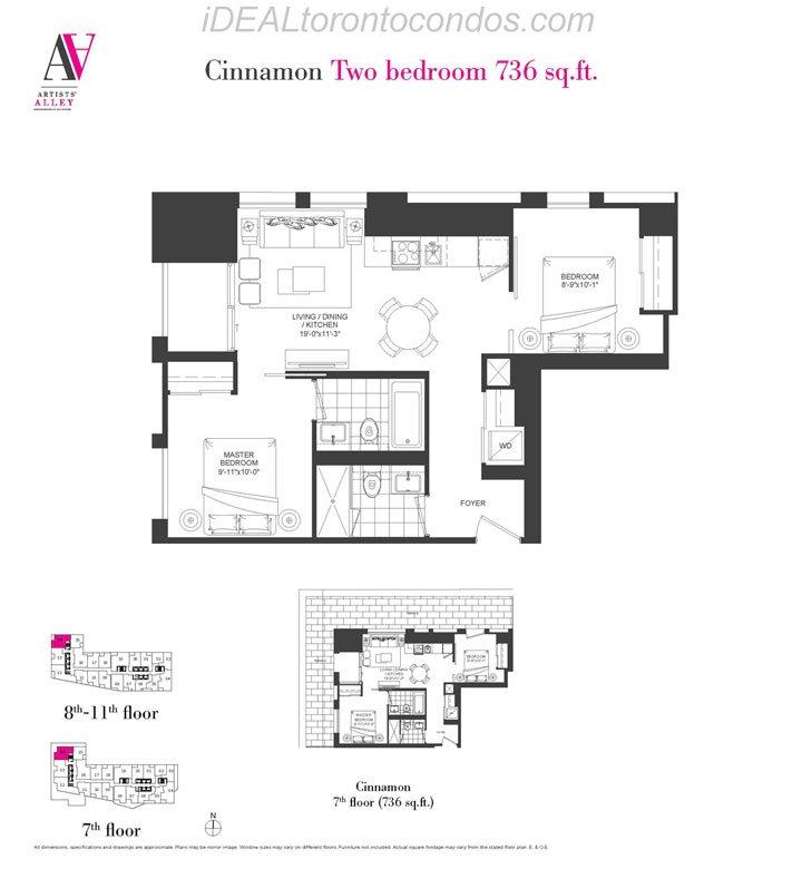 Cinnamon Two bedroom - Phase 1