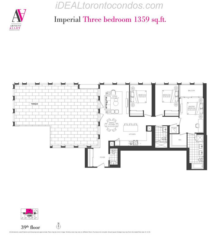 Imperial Three bedroom - Phase 1