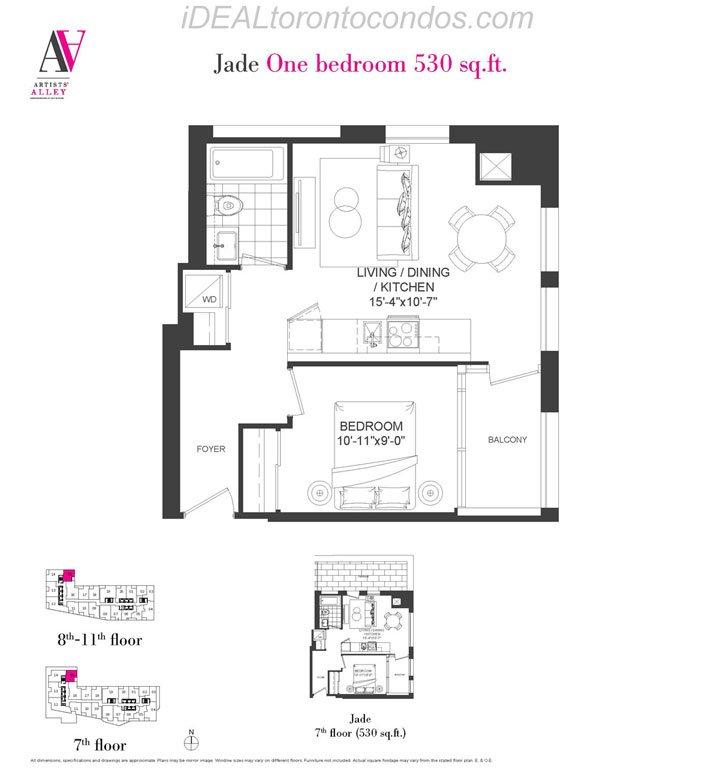 Jade One bedroom - Phase 1