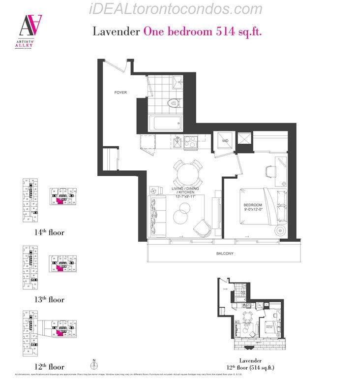 Lavander One bedroom - Phase 1