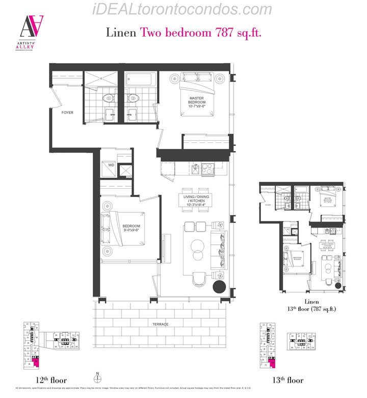 Linen Two bedroom - Phase 1