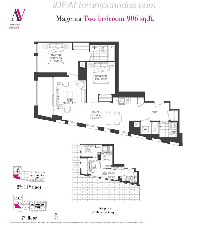 Magenta Two bedroom - Phase 1