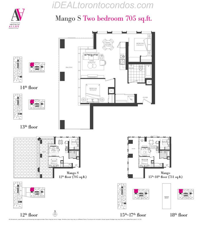 Mango S Two bedroom - Phase 1