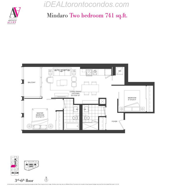 Mindaro Two bedroom - Phase 1