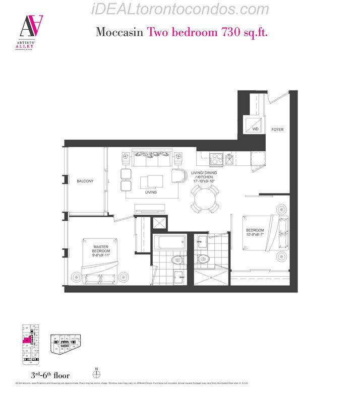 Moccasin Two bedroom - Phase 1