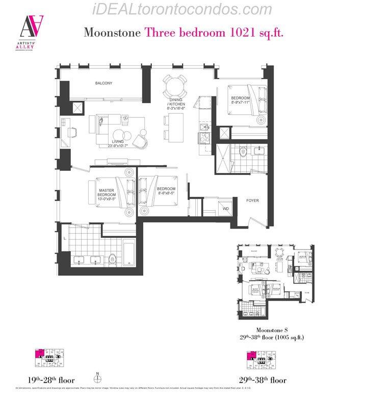Moonstone Three bedroom - Phase 1