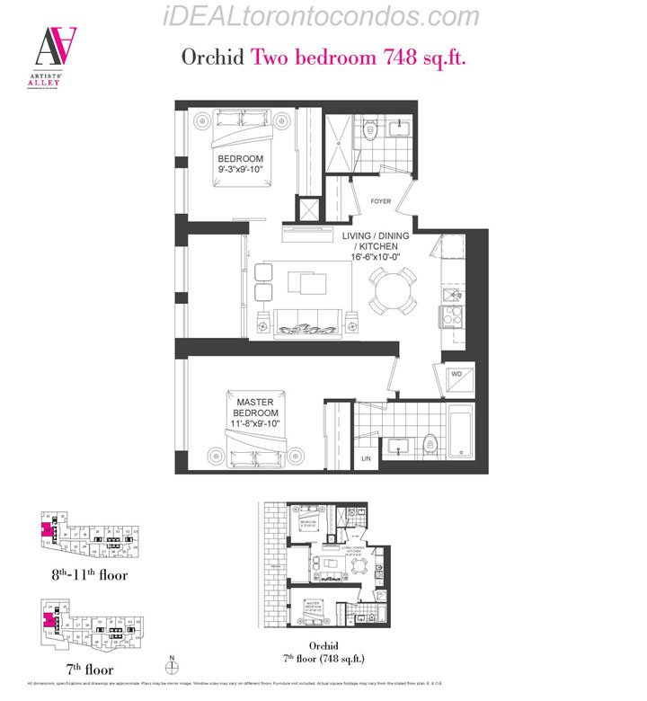 Orchid Two bedroom - Phase 1