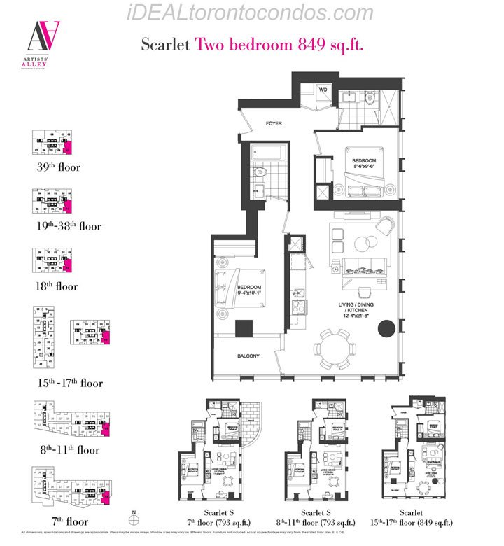 Scarlet Two bedroom - Phase 1