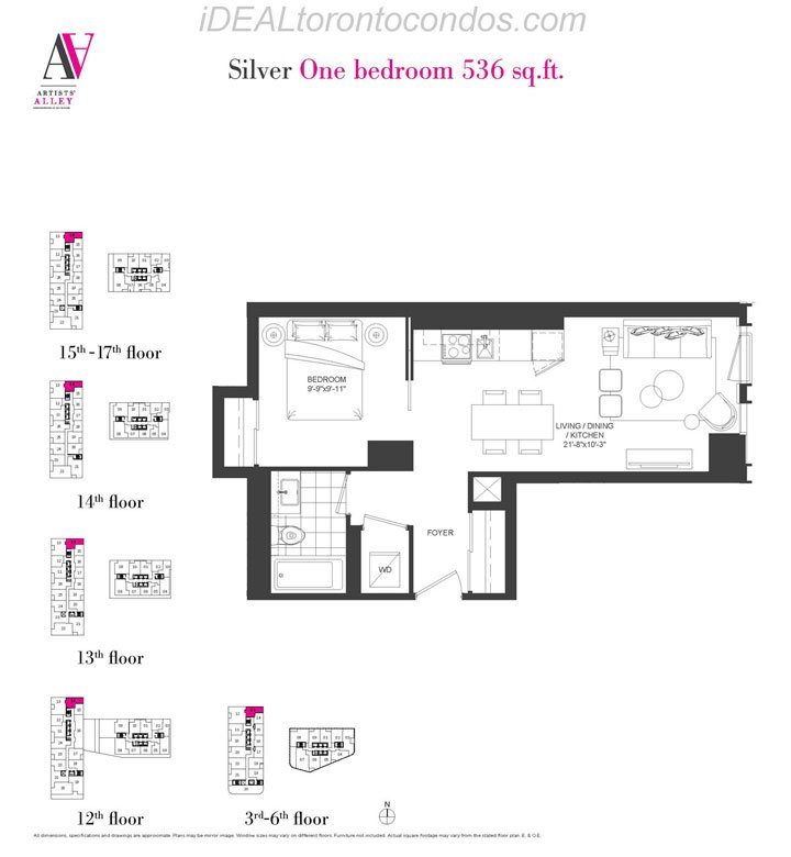 Silver One bedroom - Phase 1