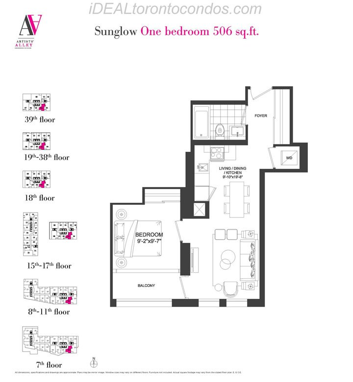 Sunglow One bedroom - Phase 1