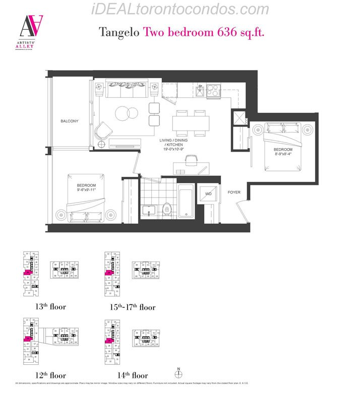 Tangelo Two bedroom - Phase 1