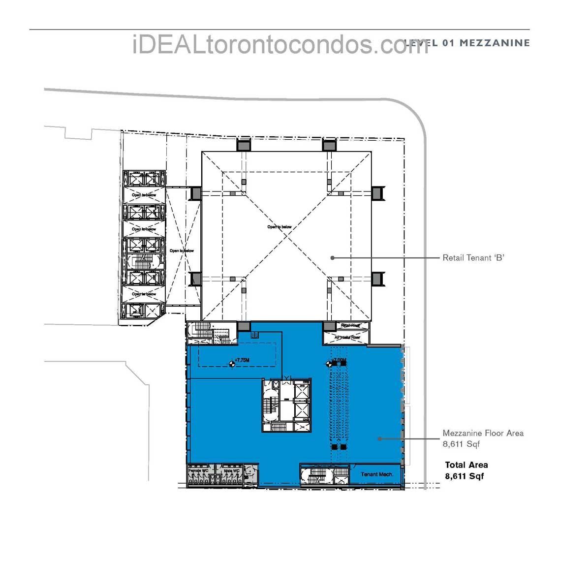 Level 01 Mezzanine