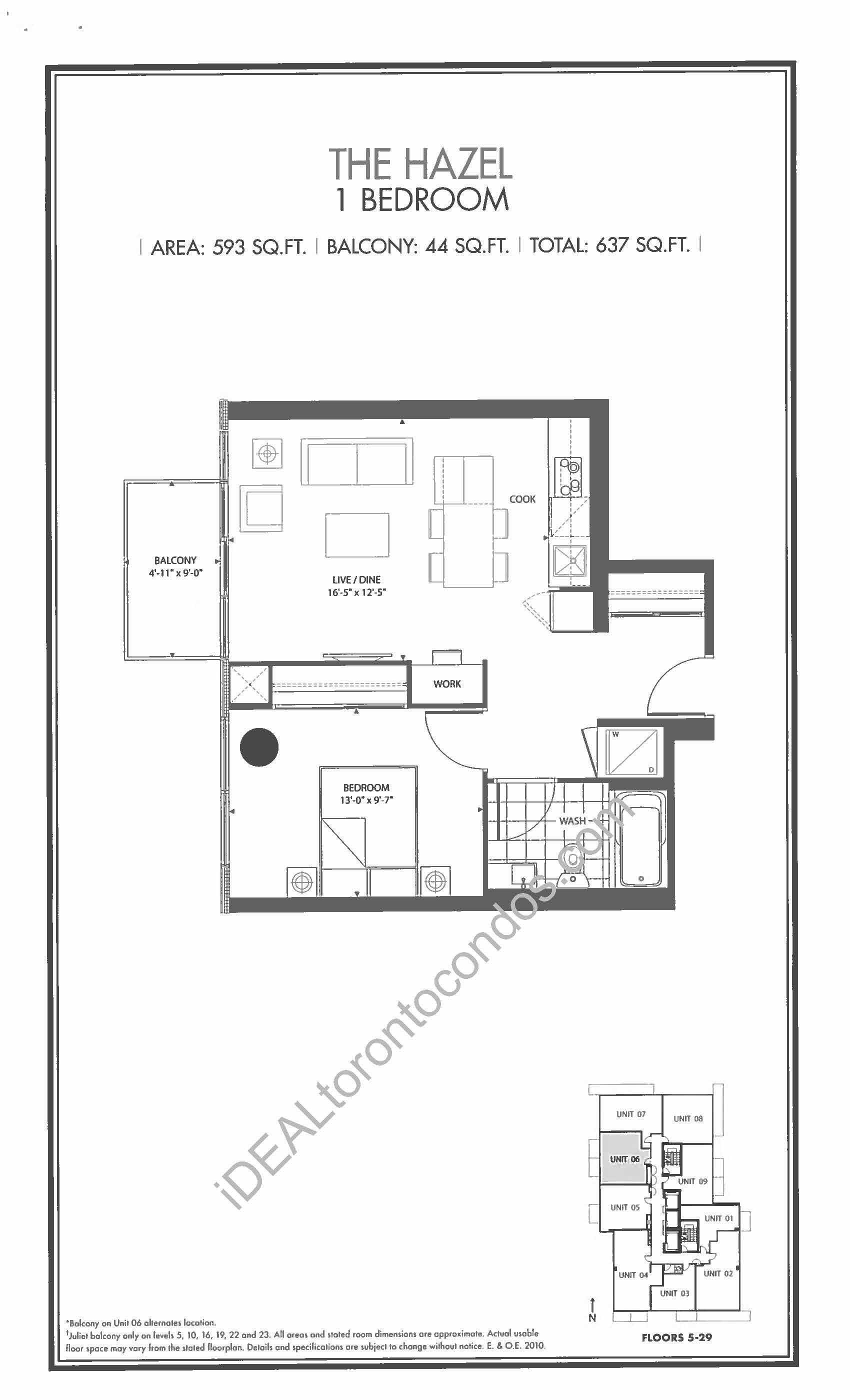 The Hazel - 1 Bedroom