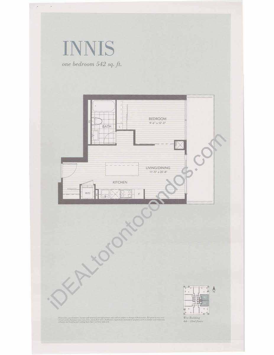 Innis - 1 Bedroom