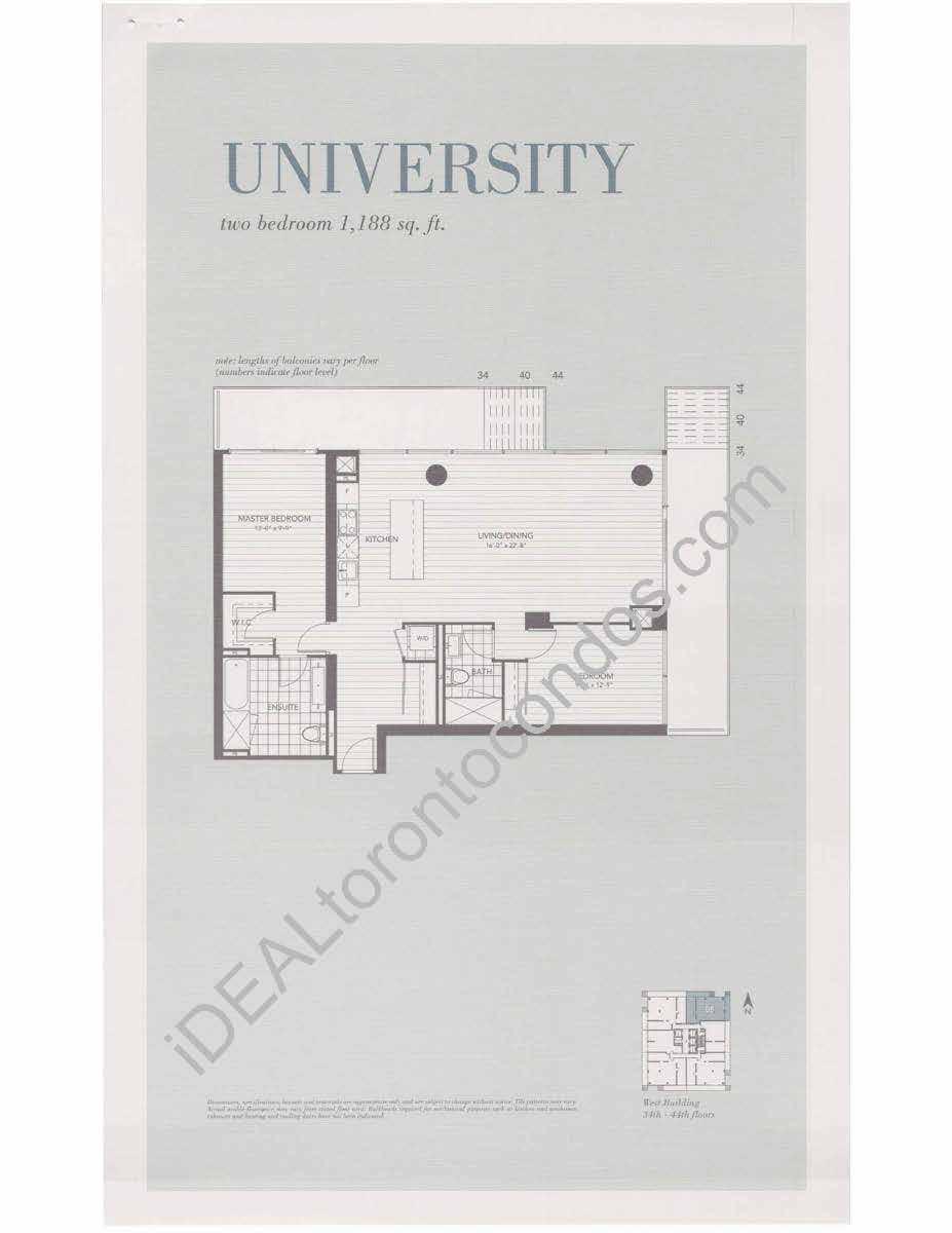 University - 2 Bedroom