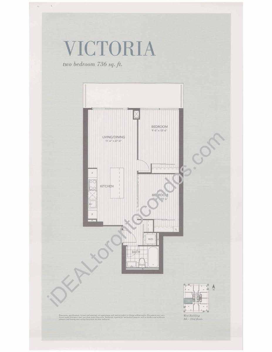 U condos 1080 bay st 65 st mary toronto 1 bedroom condo design