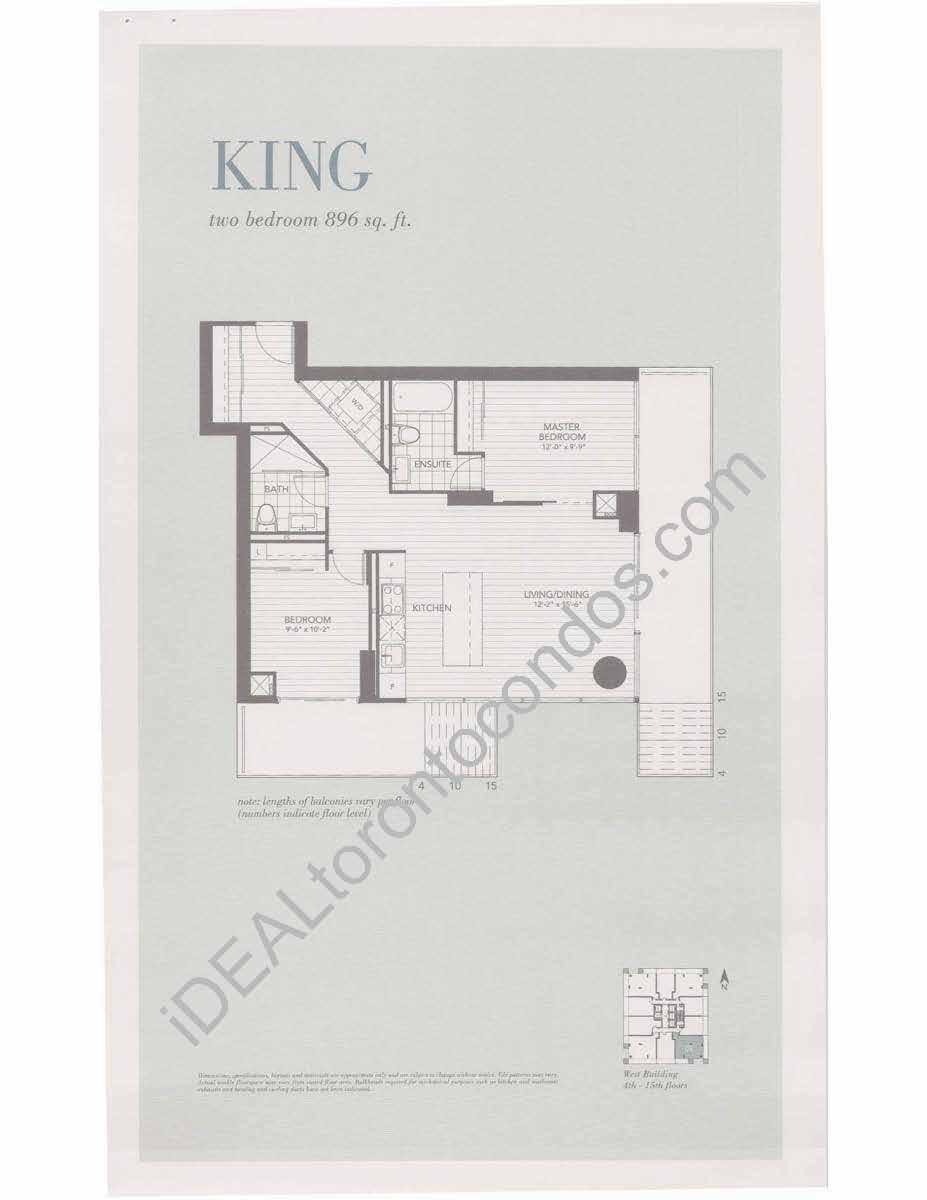 King - 2 Bedroom