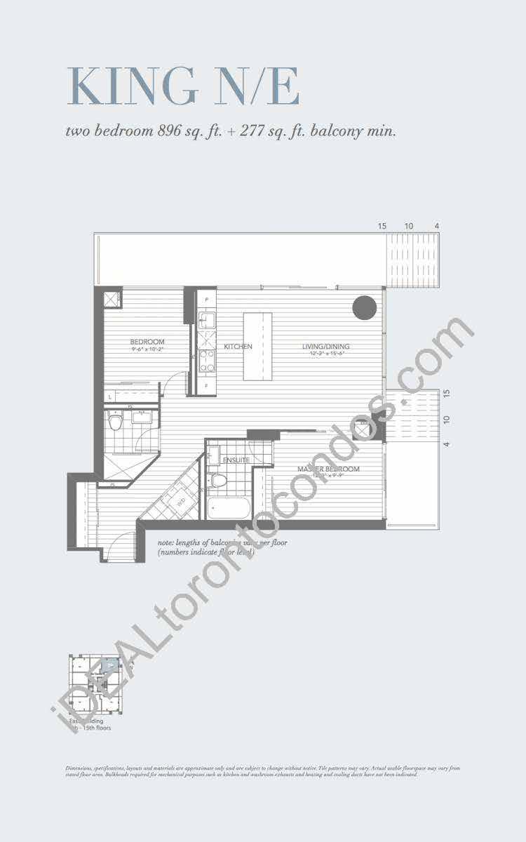 King N/E - 2 Bedroom