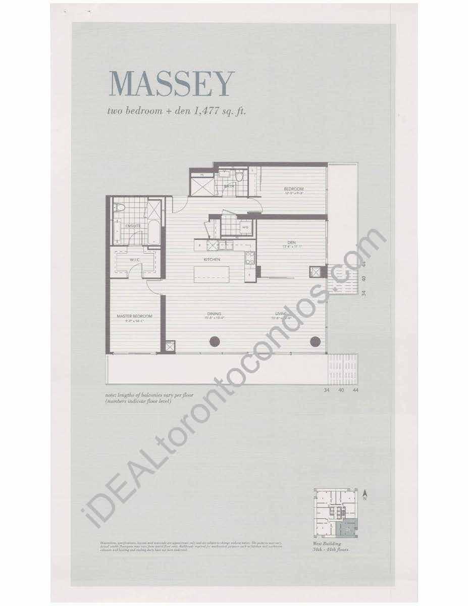 Massey - 2 Bedroom
