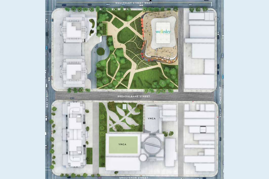 Offices on the Park map