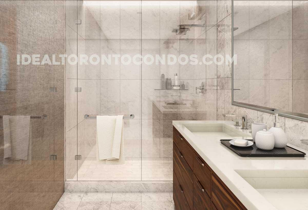THE ONE Bloor West bathroom