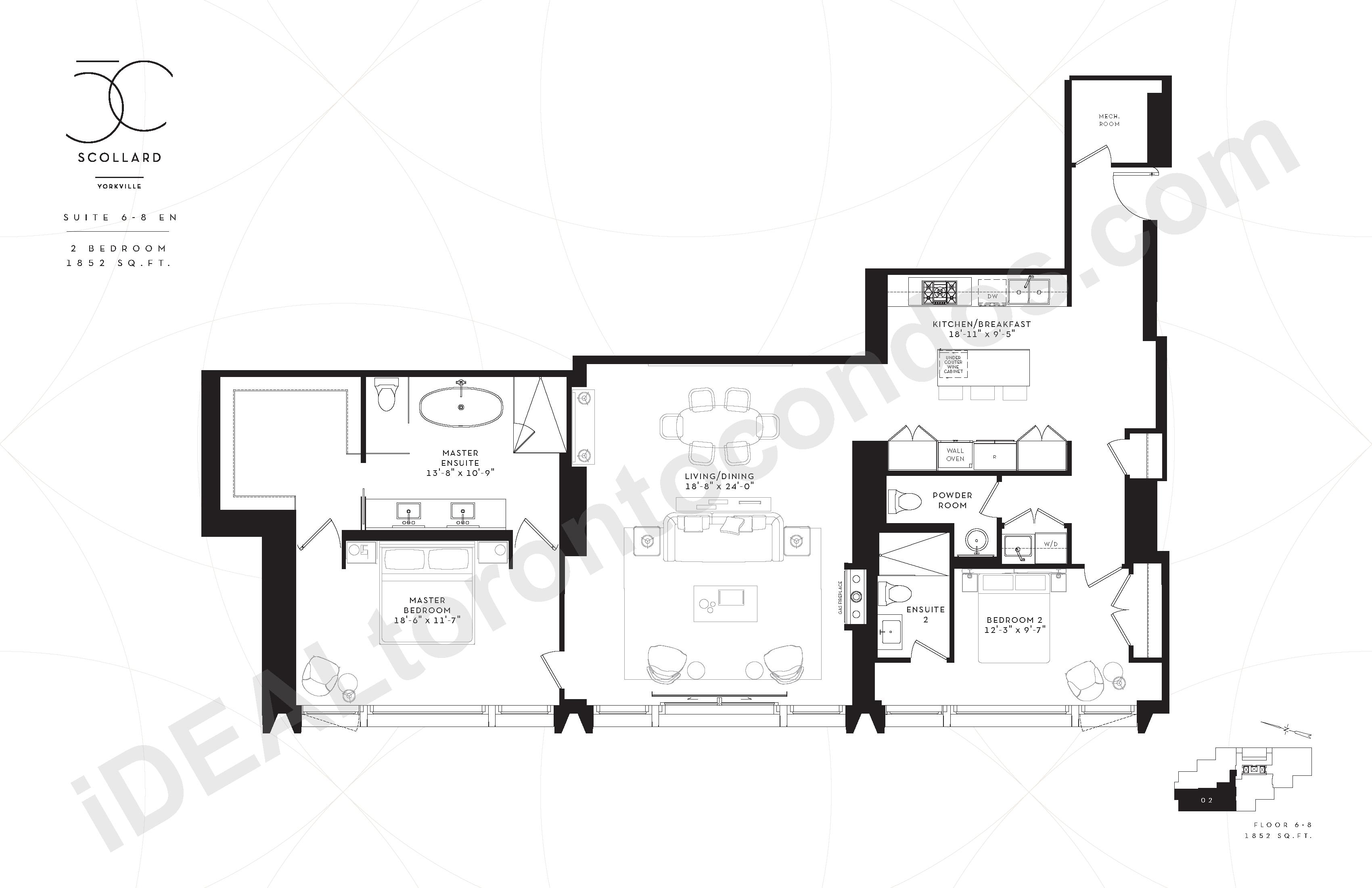 Suite 6-8 EN | 2 Bedroom