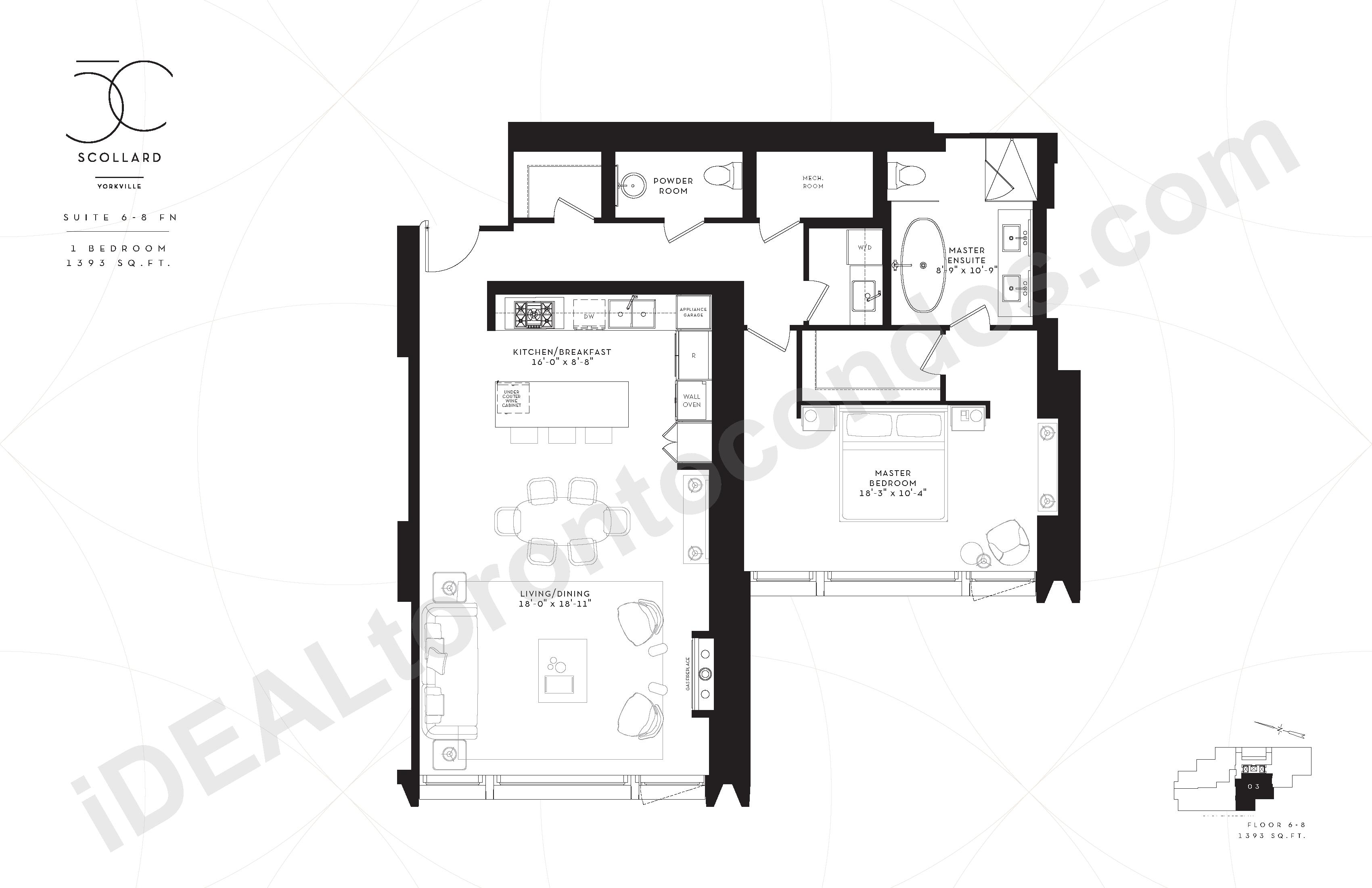 Suite 6-8 FN | 1 Bedroom