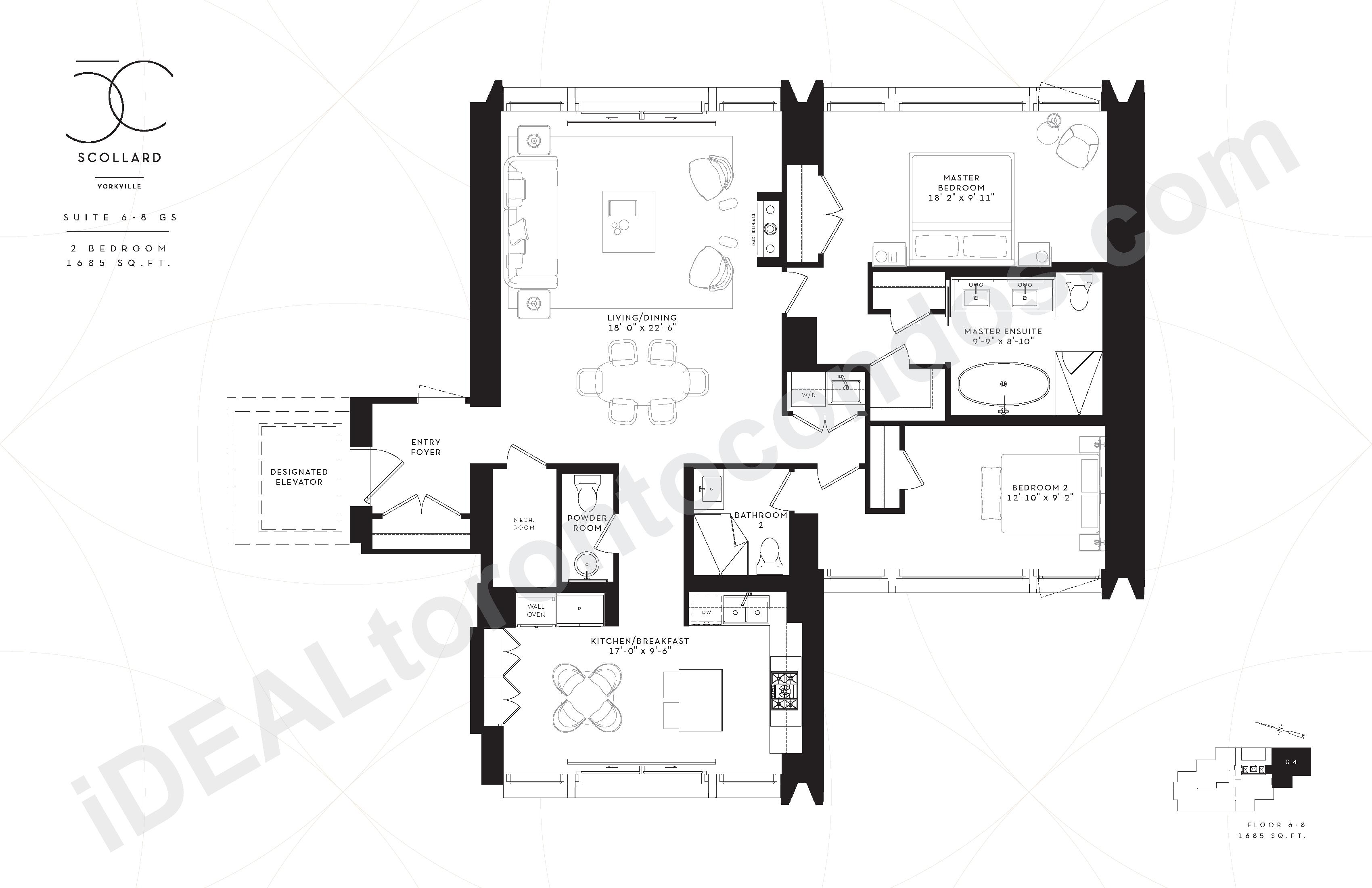 Suite 6-8 GS | 2 Bedroom