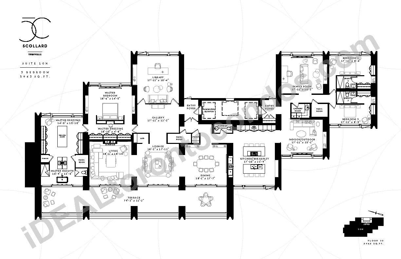 Suite 10 N | 3 Bedroom