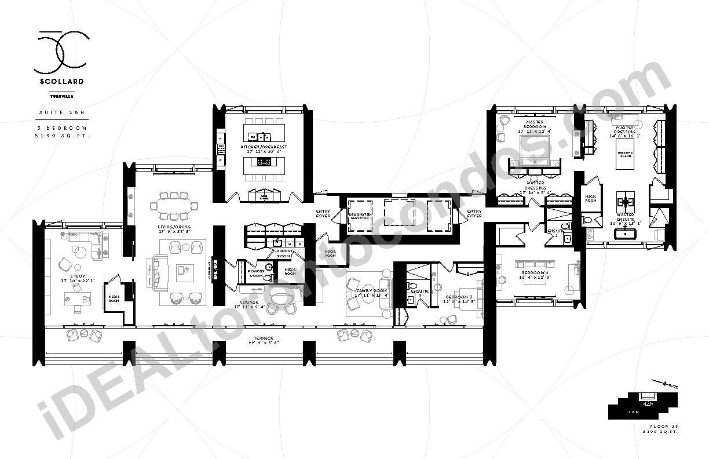 Suite 28 N | 3 Bedroom