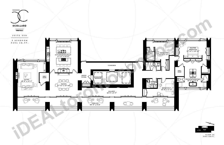 Suite 35 N | 3 Bedroom