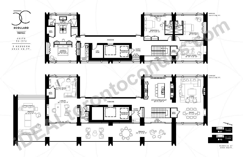 Suite 36-37 S | 3 Bedroom