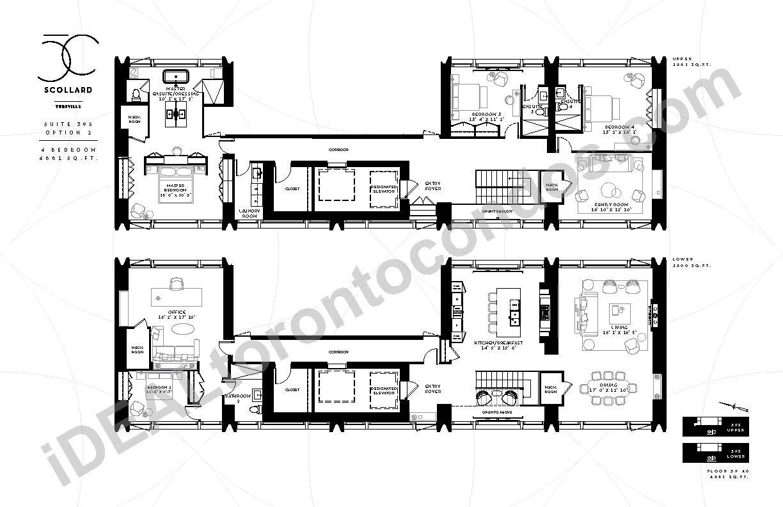 Suite 39 S | 4 Bedroom Option 2