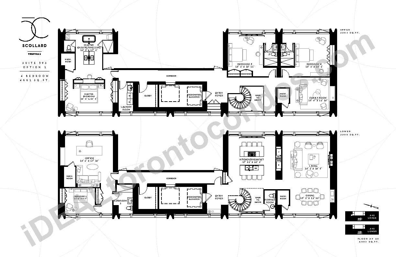Suite 39 S | 4 Bedroom Option 1