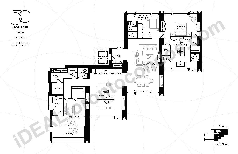 Suite 9 S | 3 Bedroom