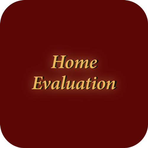 Home evaluation icon