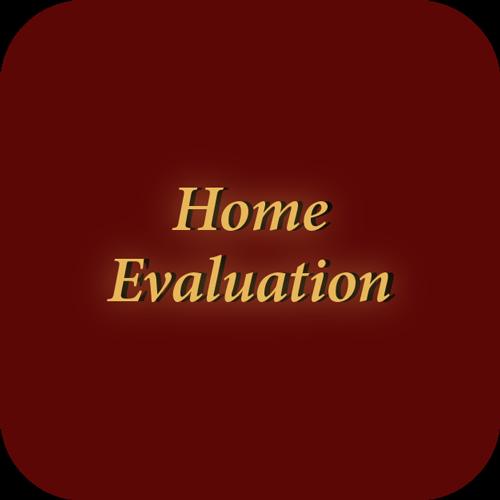Home evaluation icon