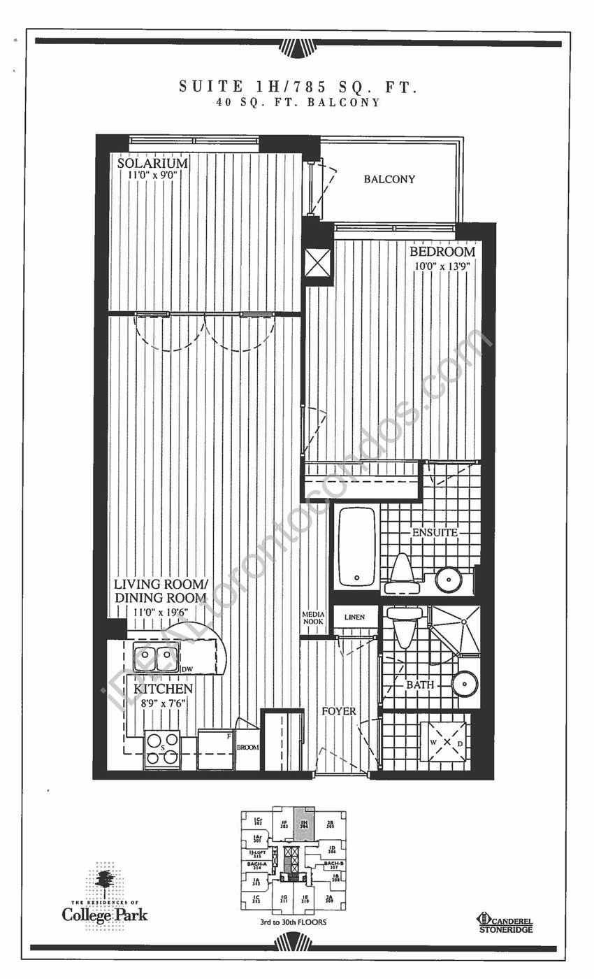 Suite 1H