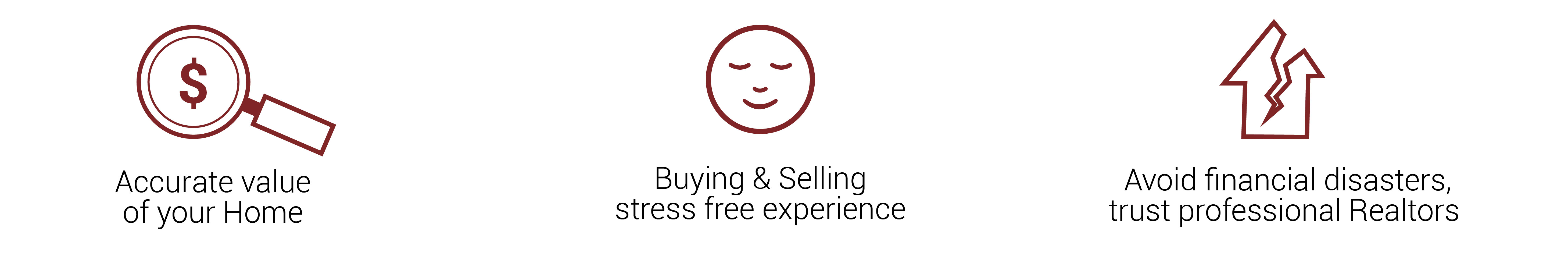 accurate value, stress free experience